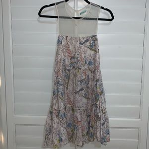 Urban Outfitters Floral and Mesh Dress